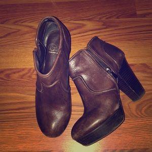 Brown Gianni Bini Ankle Boots